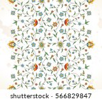 vector vintage decor  ornate... | Shutterstock .eps vector #566829847