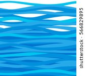 Seamless Sea Pattern With Wave...