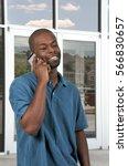young african american black... | Shutterstock . vector #566830657