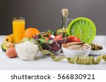 healthy food for diet with...