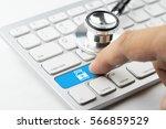 medicine doctor   nurse working ... | Shutterstock . vector #566859529