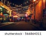 portland's alleys | Shutterstock . vector #566864311