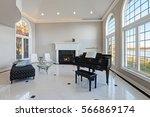 Luxury High Ceiling Living Roo...