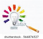 design of progress bar  loading ... | Shutterstock .eps vector #566876527
