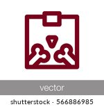 x ray icon | Shutterstock .eps vector #566886985