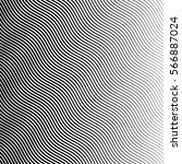 vector abstract halftone black... | Shutterstock .eps vector #566887024