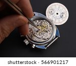 Close Up Of Watchmaker...