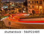 Lombard Street At Night   A...