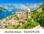 Kotor  Montenegro. Bay Of Koto...