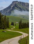 Swiss Alps Mountains  Spring...
