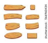wood panels. vector | Shutterstock .eps vector #566960434
