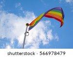 Rainbow Flag With The Colours...