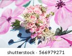 beautiful wedding colorful... | Shutterstock . vector #566979271