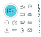 vector illustration of 12... | Shutterstock .eps vector #566980375