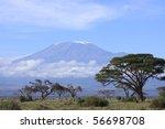 Snow Topped Kilimanjaro Framed...