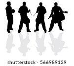 painting service vector... | Shutterstock .eps vector #566989129