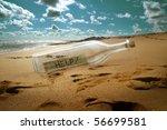 Help Message In A Bottle On...
