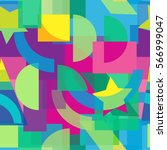 abstract colorful seamless...   Shutterstock .eps vector #566999047