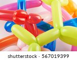 close up of a pile of multiple... | Shutterstock . vector #567019399