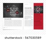 business magazine | Shutterstock .eps vector #567030589