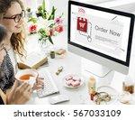 add to cart order shopping... | Shutterstock . vector #567033109