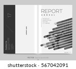 cover design annual report... | Shutterstock .eps vector #567042091