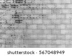 gray brick wall closeup for... | Shutterstock . vector #567048949