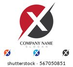 x letter logo template vector...