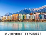 Innsbruck cityscape, Austria.