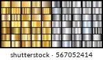 gold gradient background vector ... | Shutterstock .eps vector #567052414