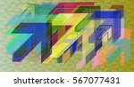 way art background | Shutterstock .eps vector #567077431