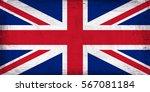 grunge flag of great britain.   Shutterstock . vector #567081184