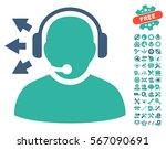 operator answer speech... | Shutterstock .eps vector #567090691