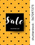 holiday sale. poster for the... | Shutterstock .eps vector #567097375