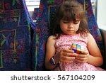 auckland   dec 12 2016  young... | Shutterstock . vector #567104209
