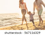 Happy Young Family Have Fun - Fine Art prints