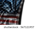 usa flag background with... | Shutterstock . vector #567121957