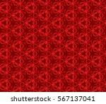 modern geometric seamless... | Shutterstock .eps vector #567137041