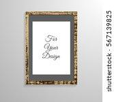 empty wooden frame for your...   Shutterstock .eps vector #567139825