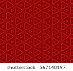 modern geometric seamless... | Shutterstock .eps vector #567140197
