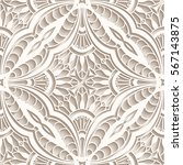 vintage lace texture  tulle... | Shutterstock .eps vector #567143875