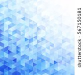 blue grid mosaic background ... | Shutterstock .eps vector #567150181