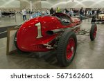 Small photo of Los Angeles, USA - January 28, 2017: 1934 Miller Rail Frame Indy Car Burd Piston-Ring SPL on display during The Classic Auto Show at the Los Angeles Convention Center.