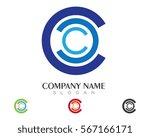 c letter logo template vector...