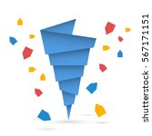 vector flat picture of the... | Shutterstock .eps vector #567171151