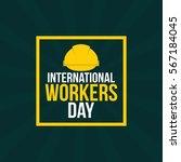 international worker's day...   Shutterstock .eps vector #567184045