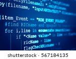 software developer programming...   Shutterstock . vector #567184135