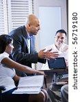 hispanic business manager... | Shutterstock . vector #56719180