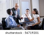 hispanic business manager... | Shutterstock . vector #56719201