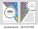 abstract vector layout... | Shutterstock .eps vector #567215785